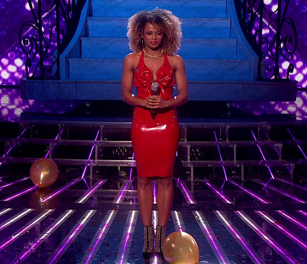 Fleur East performs on The X Factor - 6 December 2014