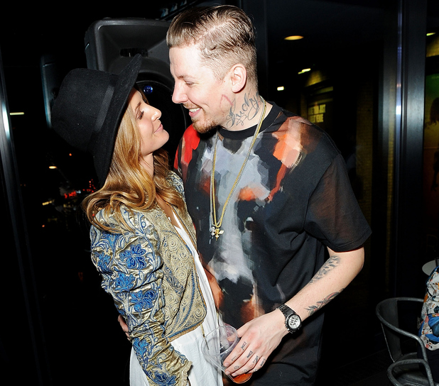 Millie Mackintosh and Professor Green, Camden Roundhouse, London 11 December
