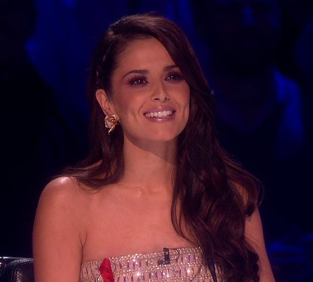Cheryl Fernandez-Versini on X Factor, 1/12/14