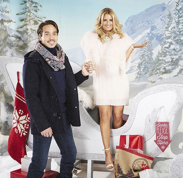 Danielle and James TOWIE Xmas shoot