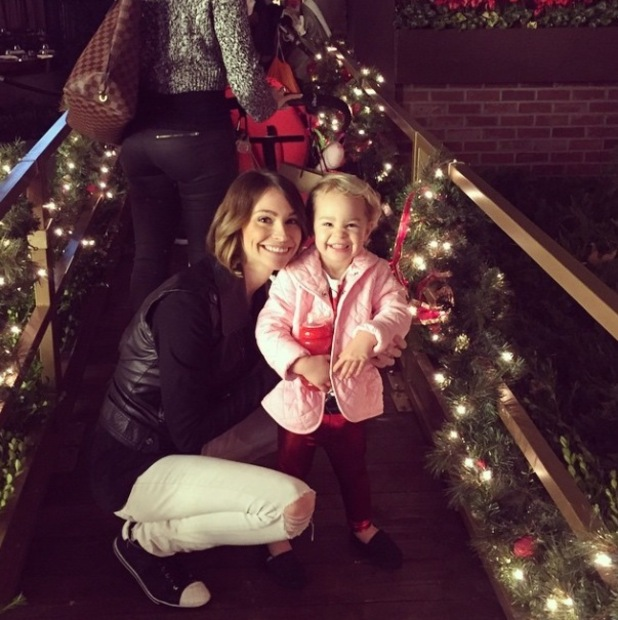 Jack Osbourne shares cute pictures of his daughter Pearl enjoying Christmas - 10 Dec 2014