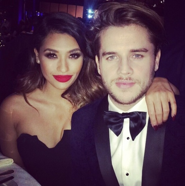 Vanessa White and Gary Salter attend the Celebrity Christmas Stocking Auction in aid of Macmillan Cancer Support in London, England - 9 December 2014