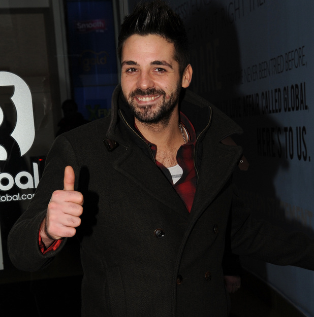 Ben Haenow at Global Radio Studios, London 9 December