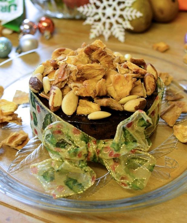 Karen Burns-Booth's recipe for tropical Christmas cake