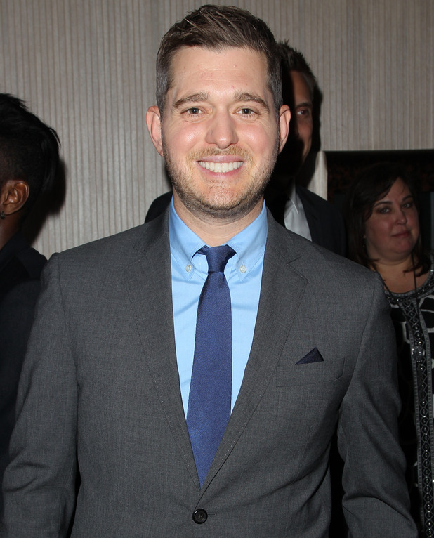 Michael Buble at the 20th Annual Fulfillment Fund Stars Benefit Gala, Beverly Hills, US, 14 Oct 2014