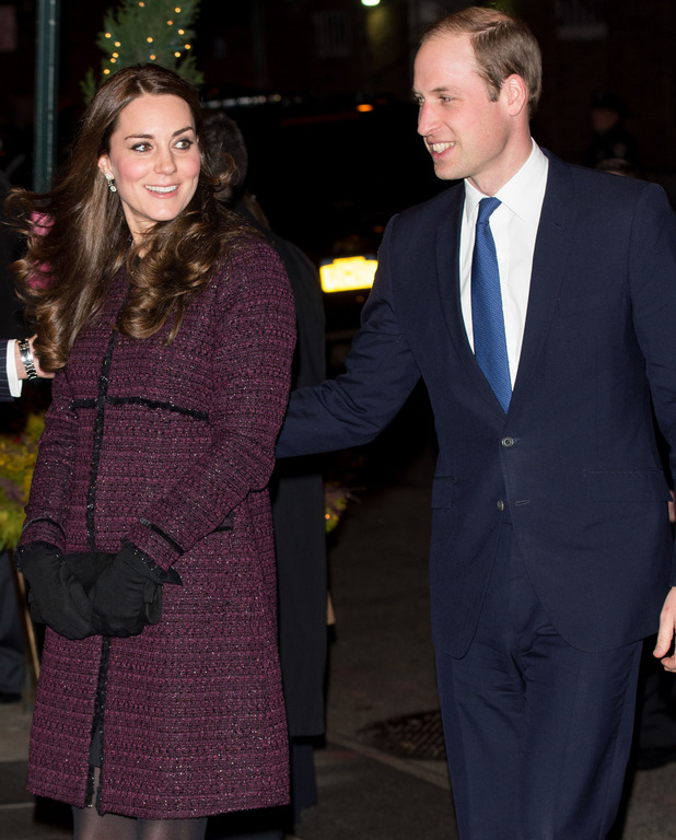 Prince William and Kate Middleton arrive in New York for official visit - 7 Dec 2014