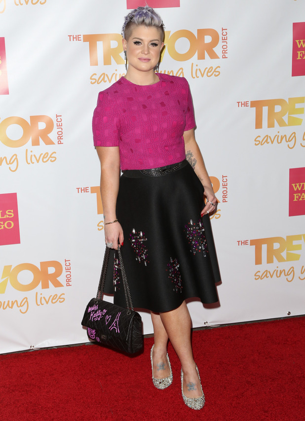 Kelly Osbourne attends the 2014 TrevorLive event in Los Angeles, America - 7 December 2014