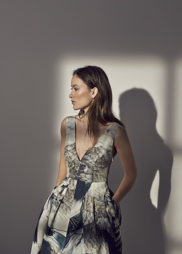 Olivia Wilde poses in campaign photos as the face of H&M's Conscious Exclusive 2015 campaign - 11 December 2014