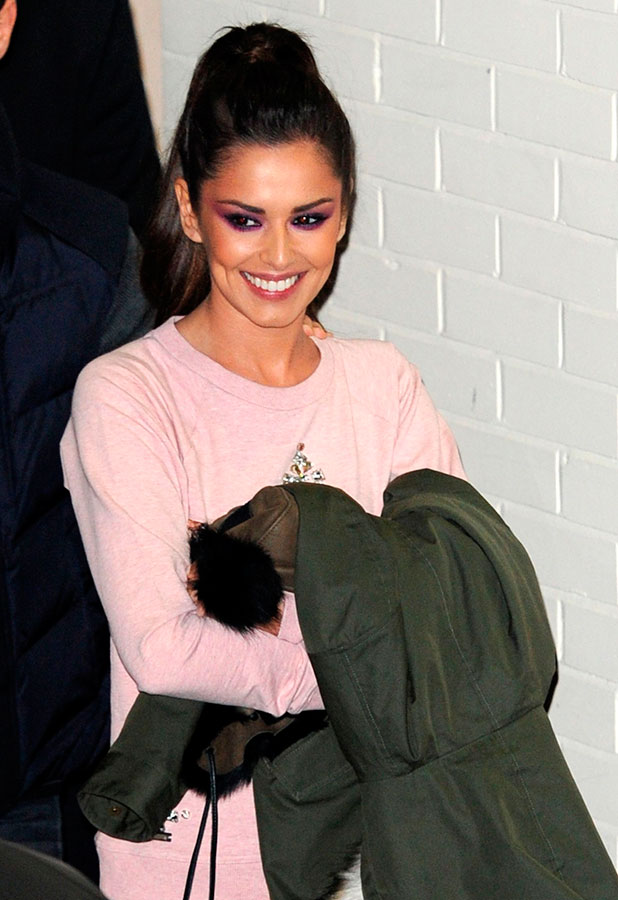 Cheryl Fernandez-Versini 'The X Factor' celebrities at Fountain Studios, London, Britain - 07 Dec 2014