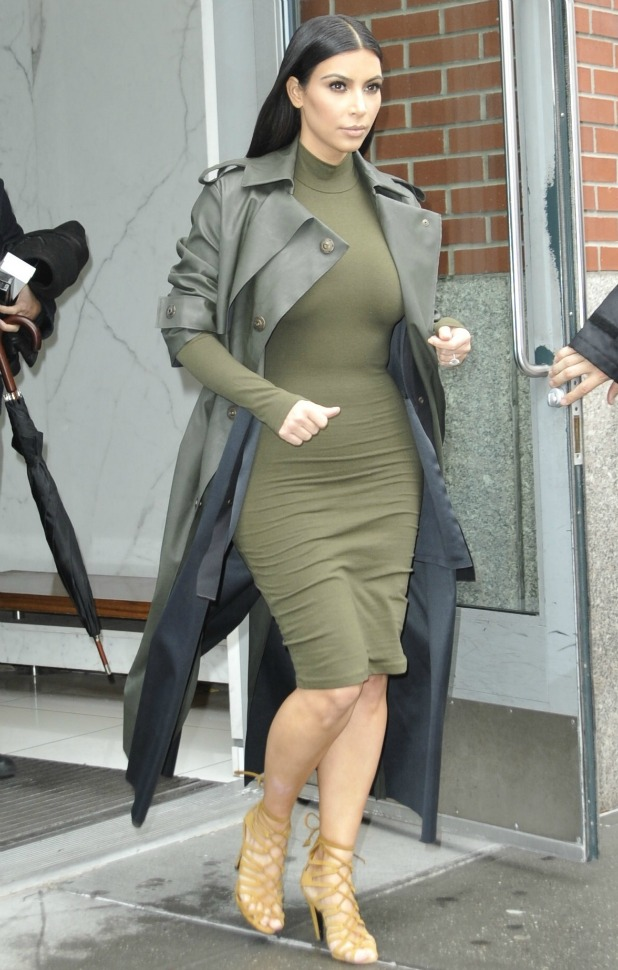 Kim Kardashian out and about in New York City, 10 December 2014