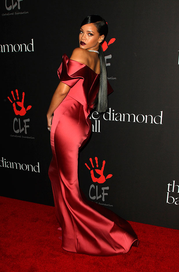 Rihanna and The Clara Lionel Foundation Presents The Inaugural Diamond Ball, 11 December 2014