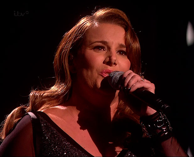 Sam Bailey performs her new single 'With You' on 'The X Factor, Semi Final - The Results', Shown on ITV1 HD
