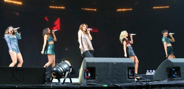 Radio City Christmas Live concert at the Echo Arena, Liverpool, Britain - 10 Dec 2014 The Saturdays - Una Foden