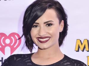Demi Lovato at the Hot 99.5 Jingle Ball in Washington, D.C. - 15 December 2014