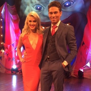 Joey Essex and Ashley Roberts attend British Comedy Awards, London 16 December