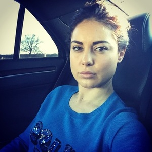Louise Thompson trains for The Jump 16 December