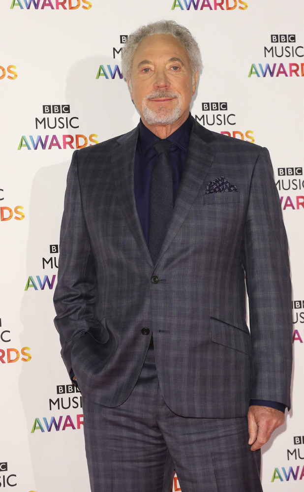 Tom Jones The BBC Music Awards 2014 held at Earls Court - Arrivals 11/12/2014