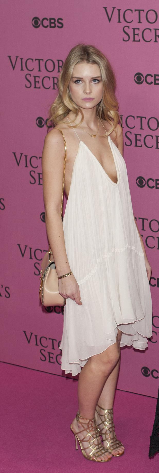 Lottie Moss Victoria's Secret Fashion Show held at the Earls Court Exhibition Centre