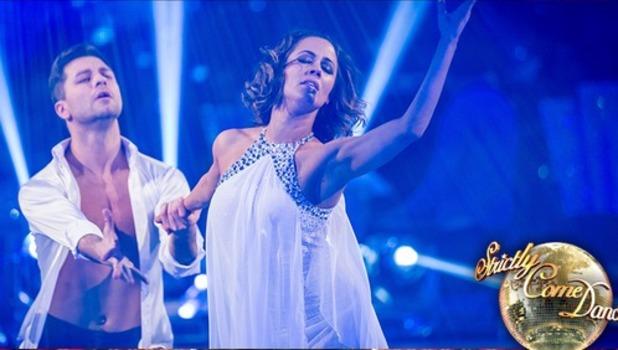 Caroline Flack and professional partner Pasha Kovalev win Strictly 2014, 20 December 2014