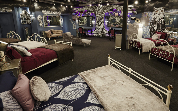 Bedroom, Celebrity Big Brother House January 2015 Channel 5