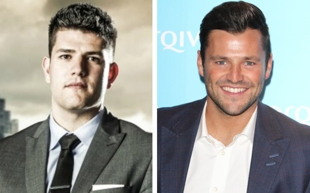 Mark Wright Apprentice and Mark Wright TOWIE - 19 Dec 2014