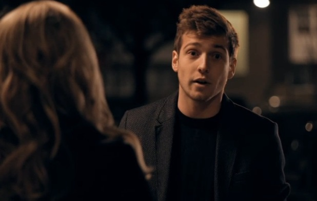 Sam Thompson pleads with Tiffany Watson on Made In Chelsea - 15 December 2014.