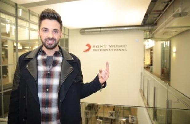 Ben Haenow at Sony Music 16 December
