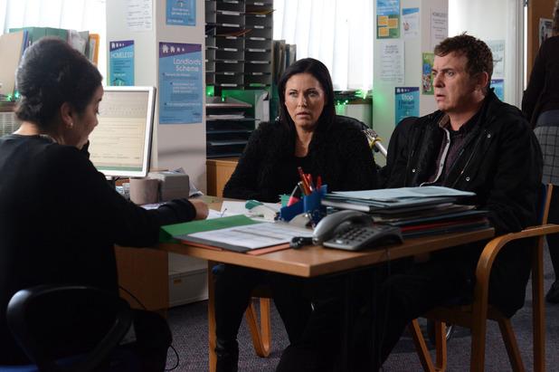 EastEnders, Kat and Alfie visit the council, Thu 18 Dec
