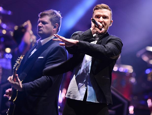 Justin Timberlake performs at Barclays Centre, Brooklyn 14 December