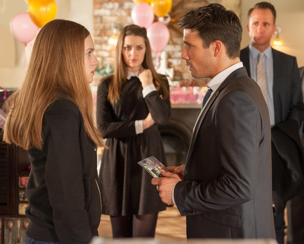 Hollyoaks, Nico wants to know who her dad is, Wed 17 Dec