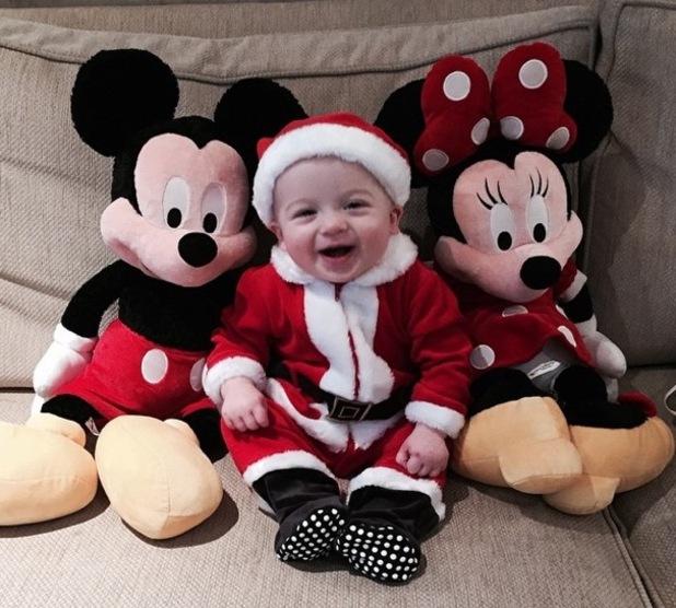 Buzz Fletcher dresses up as Santa 13 December