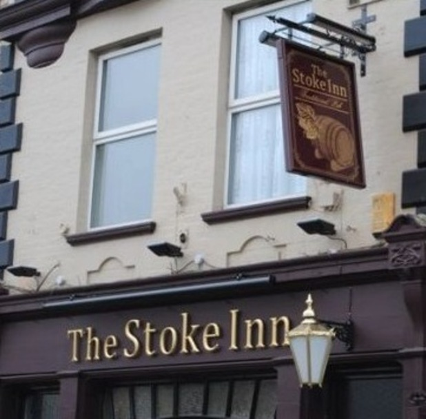 The Stoke Inn pub sign
