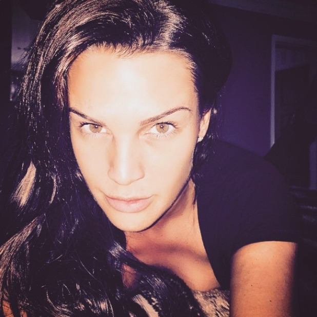 Danielle Lloyd posts picture after Botox, 19 December 2014