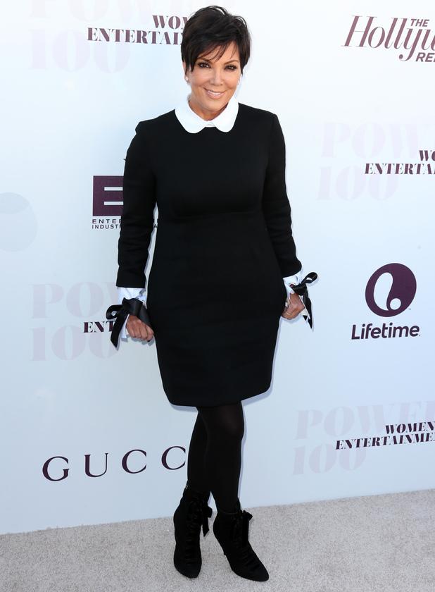 Kris Jenner attends The Hollywood Reporter's Women In Entertainment Breakfast, 10 December 2014