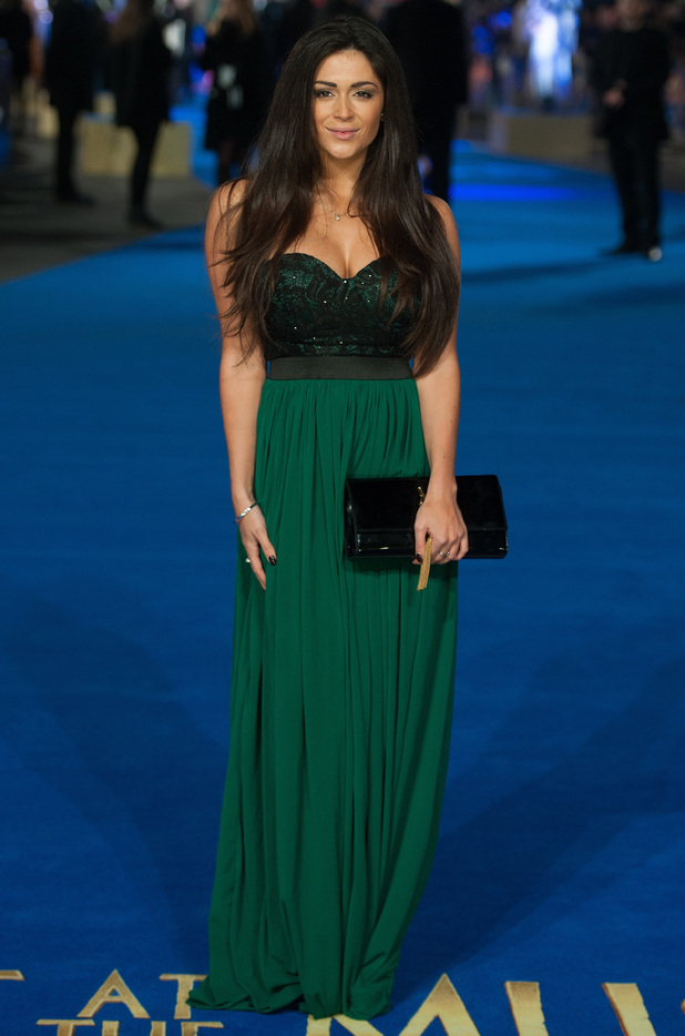 Casey Batchelor attends the premiere of Night at the Museum: Secret of the Tomb in London, England - 15 December 2014