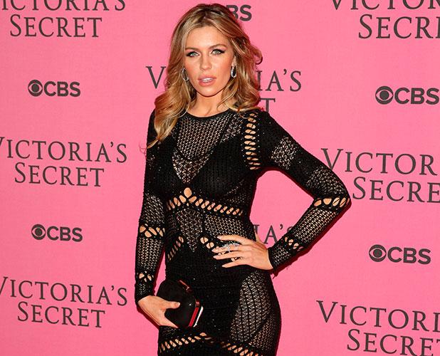 Abbey Clancy at Victoria's Secret Fashion Show 2014 London held at Earl's Court - Arrivals, 2 Dec 2014