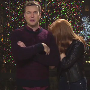 Amy Adams' SNL promo about One Direction, 16 December 2014