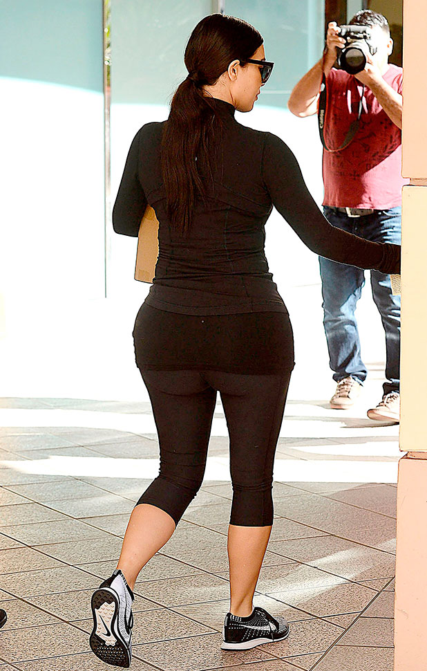 Kim Kardashian out and about, Los Angeles, America - 13 Dec 2014