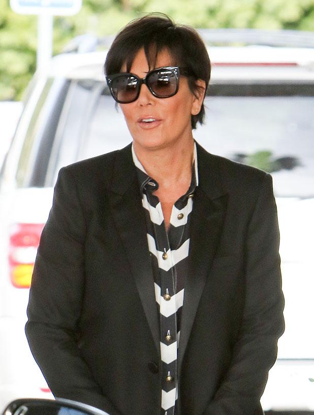 Kris Jenner is seen in Los Angeles on December 15, 2014 in Los Angeles, California.