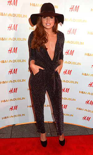 Nadia Forde, H&M opens up a flagship store on Dublin's College Green - Arrivals, 18 December 2014