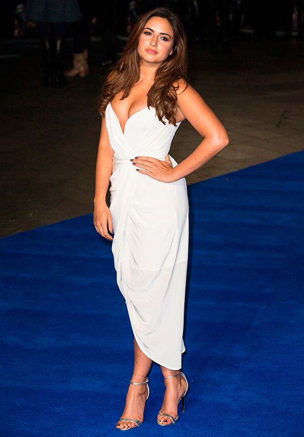 Nadia Forde at the European premiere of 'Night at the Museum: Secret of the Tomb' held at the Empire Leicester Square, 15 December 2014