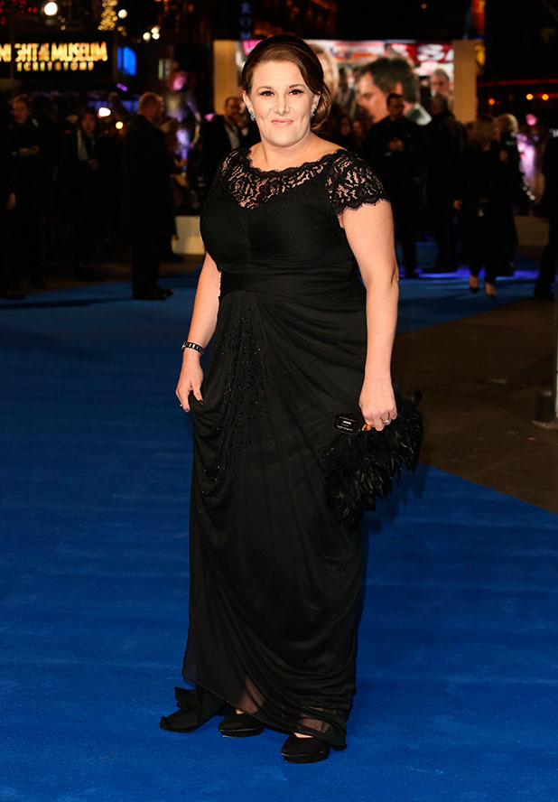 Sam Bailey at Night at the Museum: Secret of the Tomb' - UK film premiere held at the Empire Leicester Square, 15 December 2014
