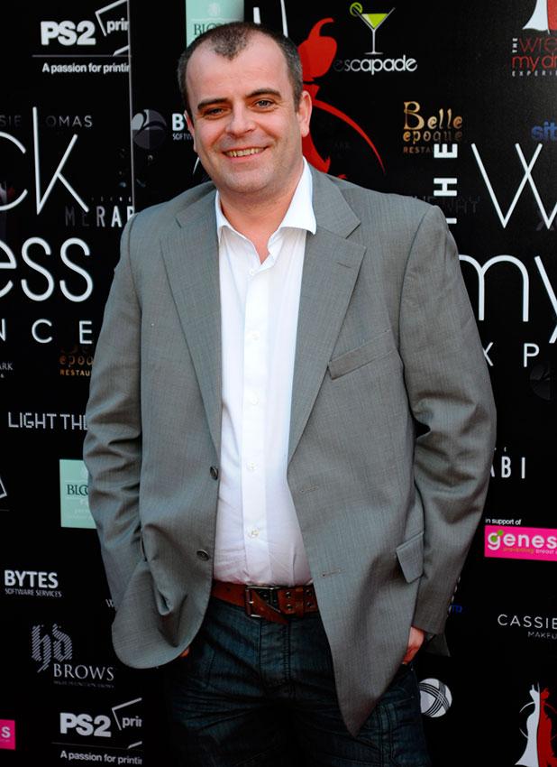 Simon Gregson pictured in 2013