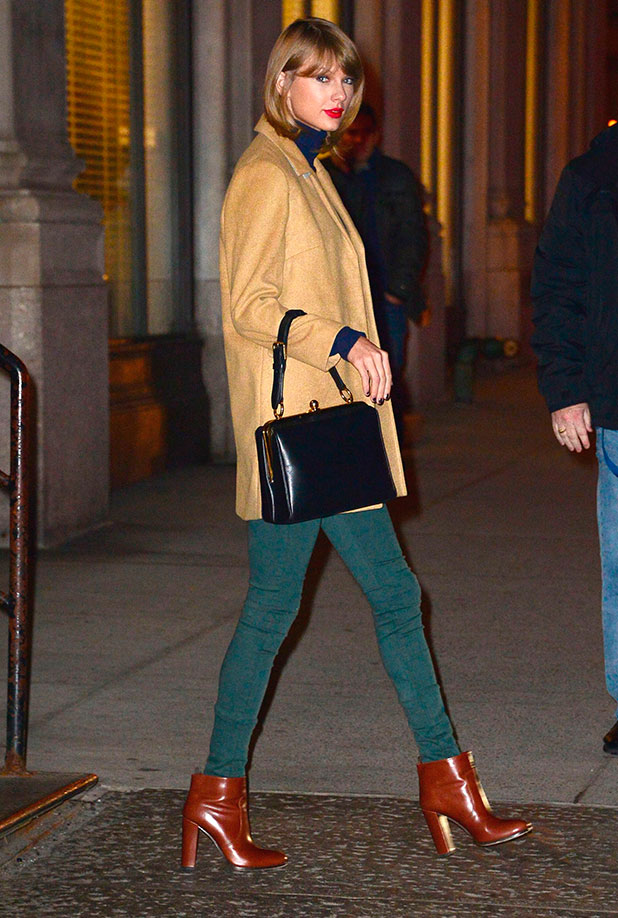Taylor Swift out and about, New York, America - 15 Dec 2014