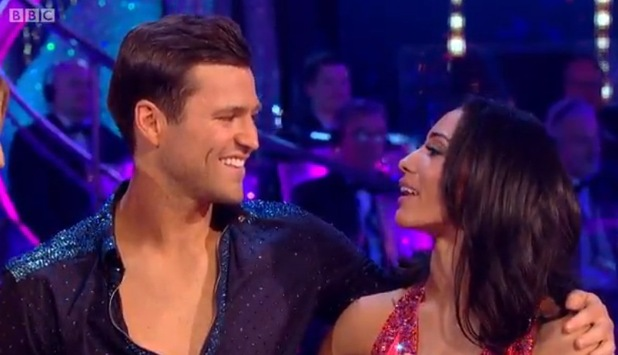 Mark Wright and Karen Haeur on Strictly final 20 December