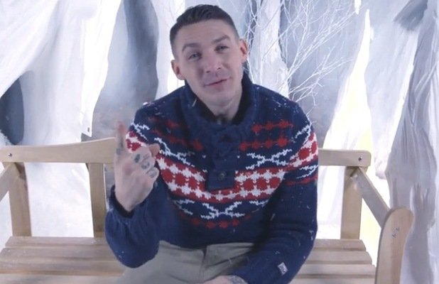 Kirk Norcross and Zack Knight in Where You Are Christmas single video - 22 Dec 2014