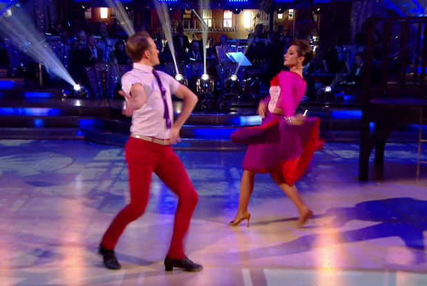 Frankie Bridge performing on Strictly Come Dancing final, BBC One 20 December