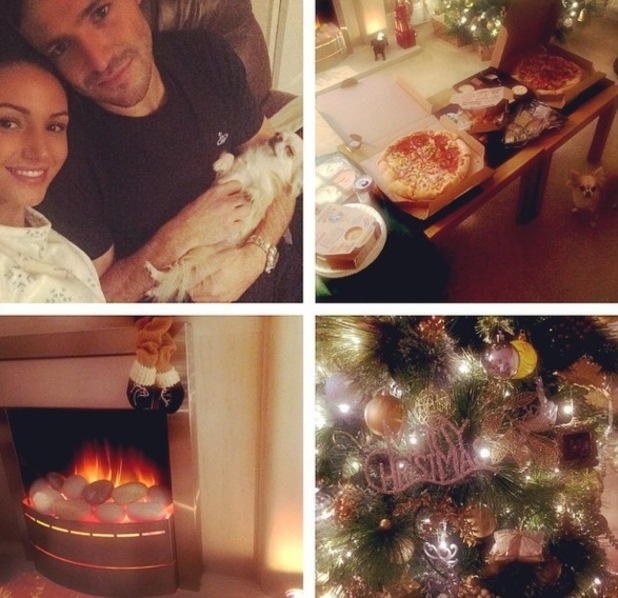 Mark Wright and Michelle Keegan start Christmas 22 December