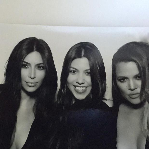 Kim Kardashian West shares family pics with Twitter followers, 27 December 2014