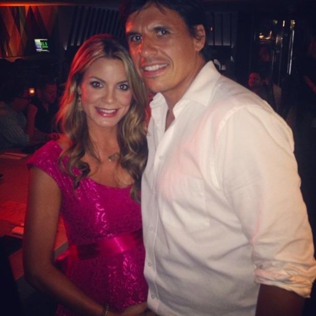 Charlotte Jackson and Chris Coleman, 29 July 2014